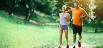 Praticando hábitos saudáveis: Pedalada e Caminhada