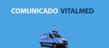 COMUNICADO - Chuva na cidade de Salvador afeta o trânsito e o serviço da VITALMED.