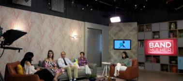 Dra. Diana Serra, Médica da Vitalmed,  Concede entrevista sobre Viroses no Programa BAND MULHER