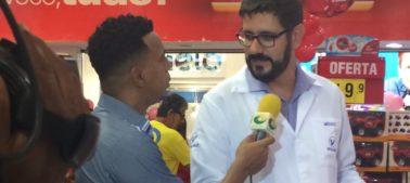 Dr. Ricardo Estevam explica sobre brinquedos seguros no Dia das Crianças.