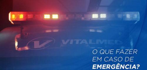 O que fazer em caso de emergência?