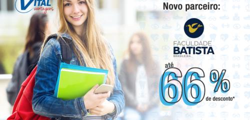 Novo parceiro - Faculdade Batista Brasileira