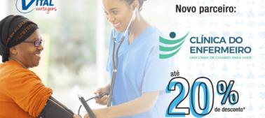 Novo parceiro no Vital Vantagens – Clínica do Enfermeiro