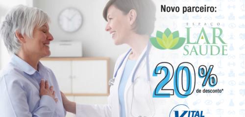 Novo parceiro no Vital Vantagens – Espaço Lar Saúde