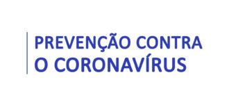 Coronavírus – Fique atento aos modos de prevenção divulgados pelo ministério da saúde.