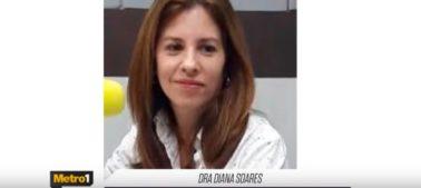 Em entrevista à Rádio Metrópole, Dra. Diana Serra esclarece dúvidas sobre Covid-19
