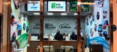 Nova loja do Vitalsac no Shopping da Bahia